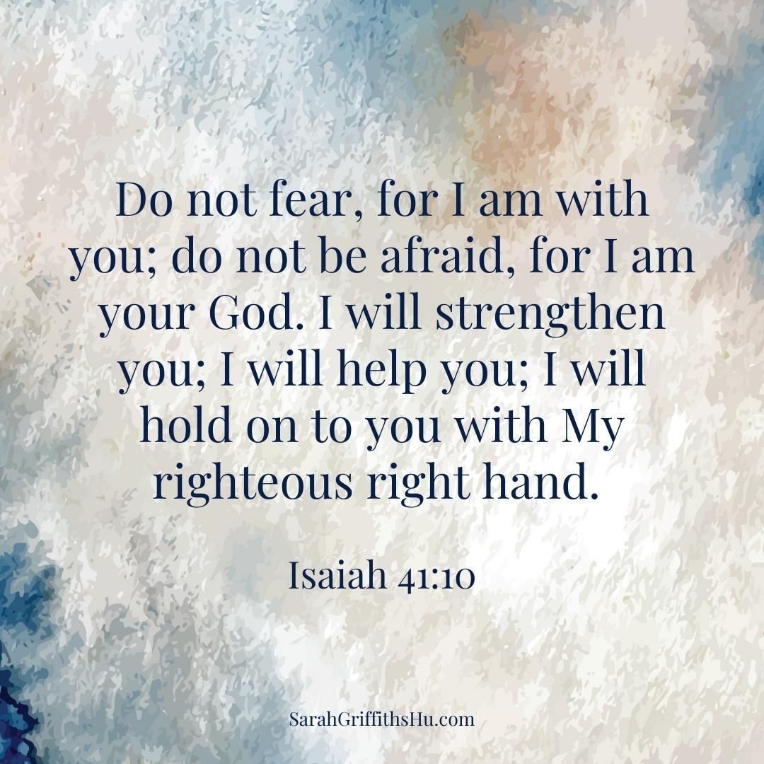Isaiah 41 10 HCSB