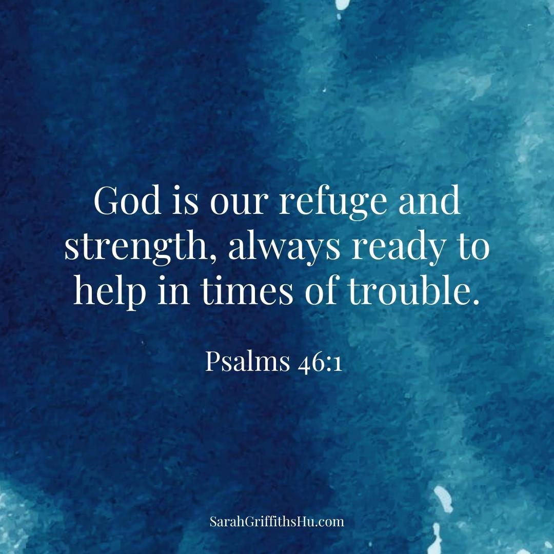 Psalms 46 1 NLT